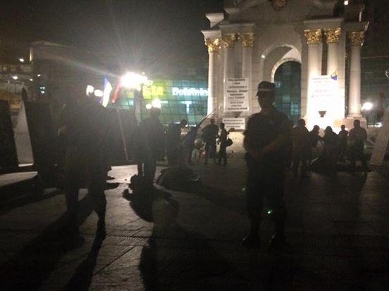На Майдані знесли усі намети, на Інститутській — вибух, — соцмережі (фото)