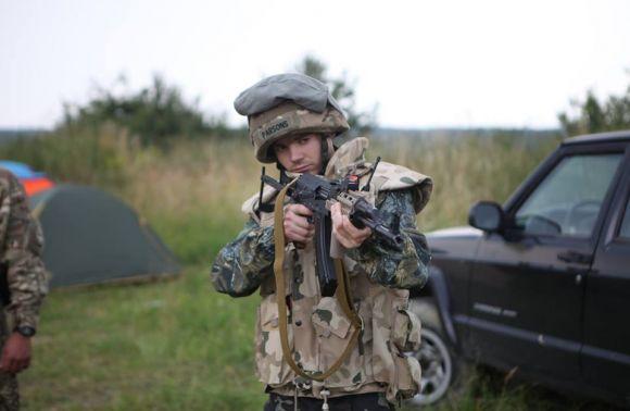 У Зашкові на Львівщині провели військовий і патріотичний вишкіл молоді та юнацтва
