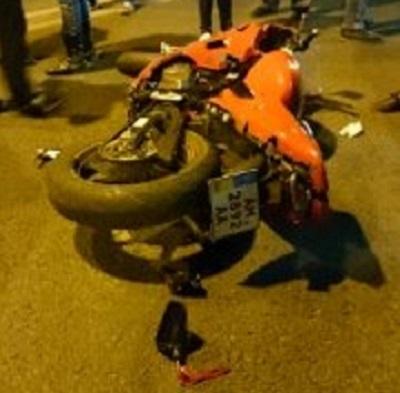У Львові мотоцикліст скоїв лобове зіткнення з мікроавтобусом (ФОТО)