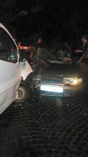 У нічній ДТП на Стрийській постраждало двоє людей. Винуватець аварії утік (фото)