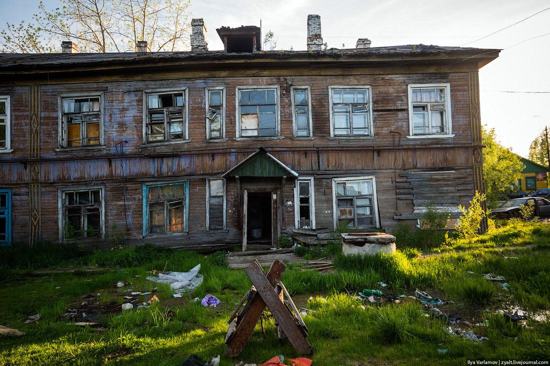 травянистое бараки в россии фото расклеили этом