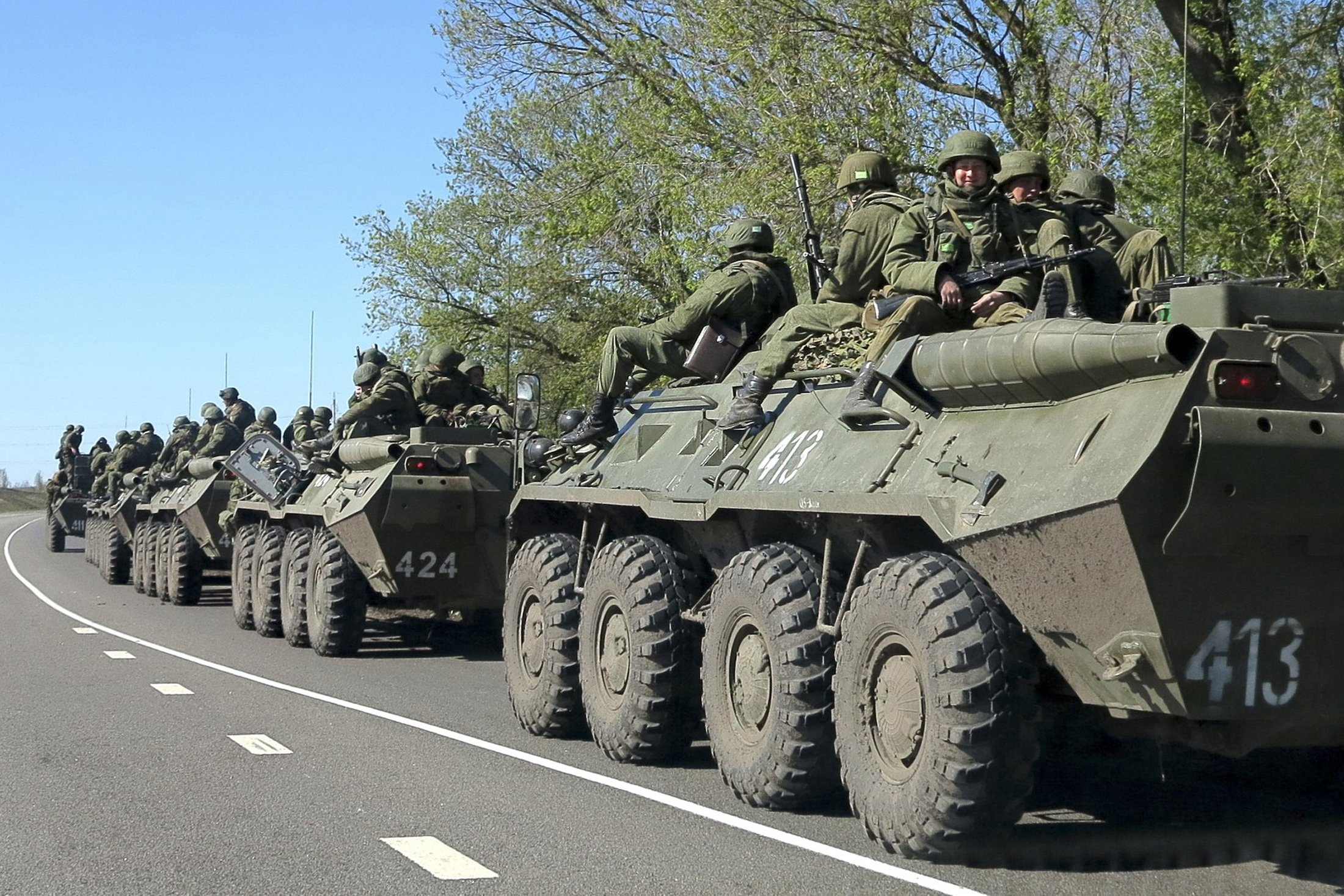 Розвідка США: Росія готова до масштабного вторгнення в Україну
