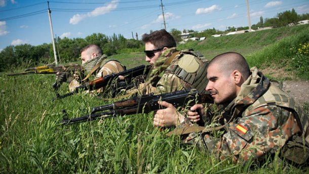 Бойовики заявили про захоплення Мар'їнки (ФОТО)