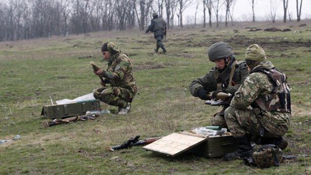 На Донеччині поблизу Мар'їнки відбулося бойове зіткнення (ВІДЕО)