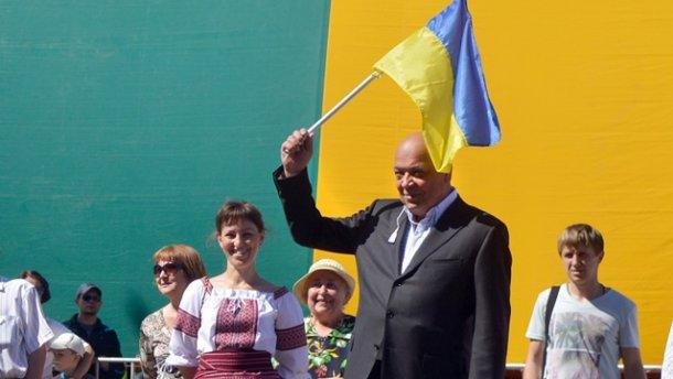 """Луганщина — це не """"вата"""": Москаль пообіцяв змести """"Новоросію"""" з лиця землі (ВІДЕО)"""