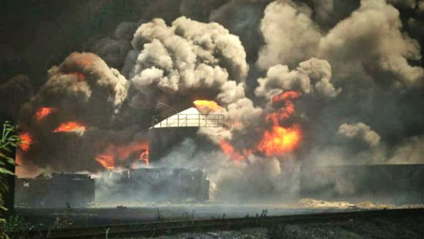 На пожежі під Києвом ще один вибух — невблаганне полум'я не слабшає