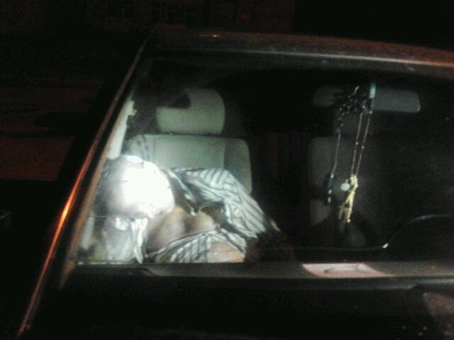 На Медовой Пещеры нашли мертвого таксиста (ФОТО)
