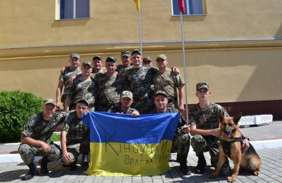 На схід України знову вирушили військовослужбовці Львівського прикордонного загону