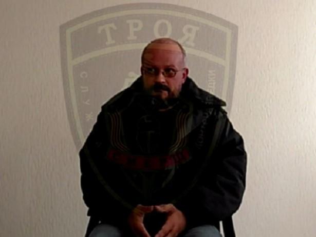 В сети появилось видео допроса главного сепаратиста Запорожье