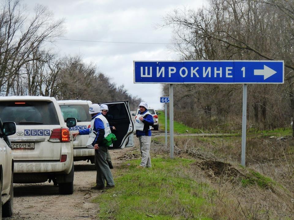 Ночь в зоне АТО: зажигательные мины возле Донецка и огневая атака на Широкино