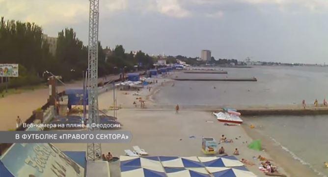 Пляжі порожні: як кримчани реагують на туристів зі Львова (ВІДЕО)