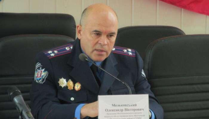 П'яний начальник міліції Мельковський побив Андрія Дзиндзю (ВІДЕО)