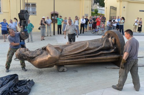 Во Львове установили памятник Митрополиту Андрею Шептицкому (ФОТО)
