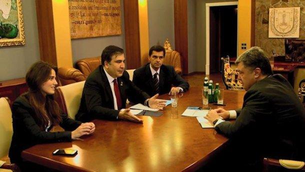 Саакашвілі показав своїх нових заступників (ФОТО)