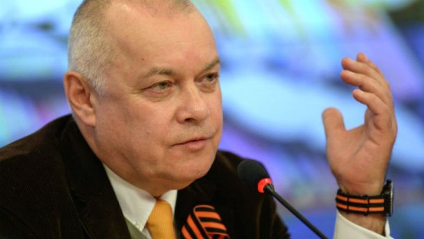 Пропагандист Киселев не продержался в Facebook и нескольких часов