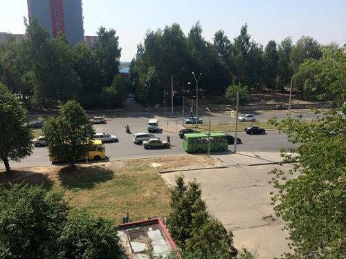 Аварія на вулиці Науковій (Фото)