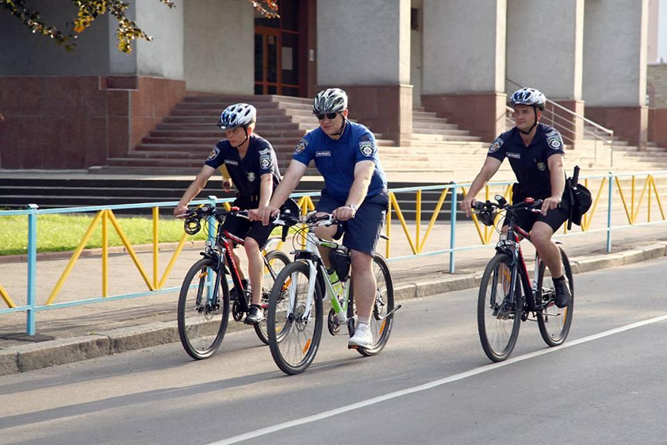 На Львовщине начал действовать велопатруль