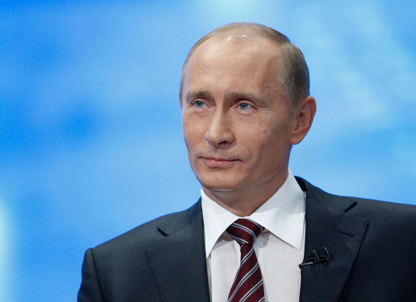 Як севастопольці бурхливо зустрічали Путіна (Відео)