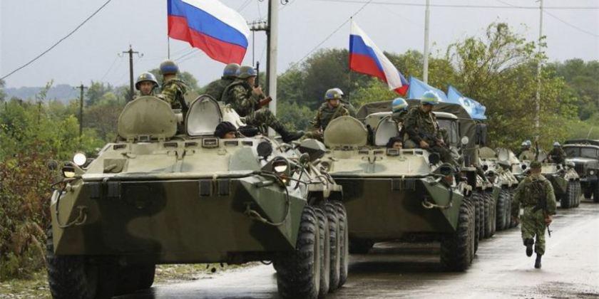 На територію України в'їхало три колони російських танків