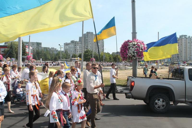 На Сихові влаштували парад вишиванок  (ФОТО)