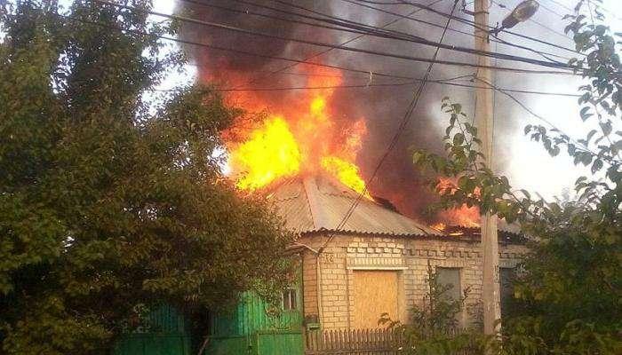 Бойовики з «Граду» обстріляли мирне село під Маріуполем