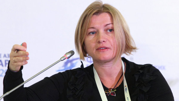 Геращенко рассказала, о чем говорили в Минске