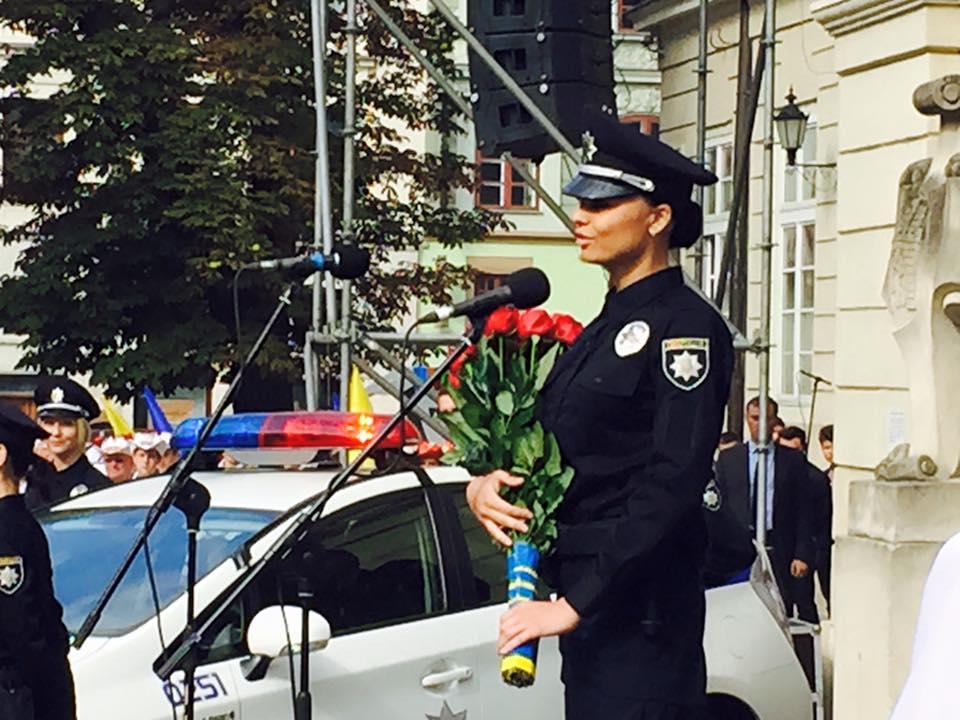 Невістка генерала Кульчицького склала присягу в поліції Львова (ВІДЕО)