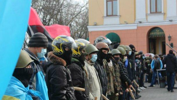 """""""Правый сектор"""" предупреждает о провокациях в Одессе"""