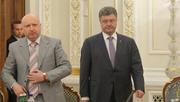 Турчинов рассказал, зачем Порошенко собрал высшее военное руководство