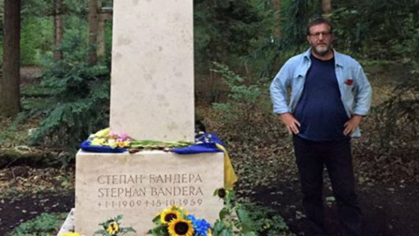 Російський екс-віце-прем'єр вшанував Бандеру в День Незалежності України (ФОТО)