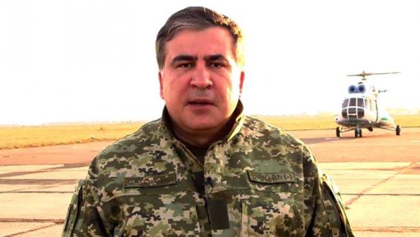 Саакашвили ответил на обвинения Яценюка (ВИДЕО)