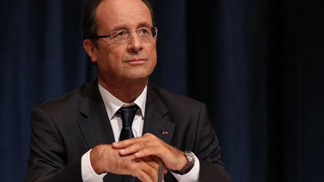 Олланд готов отменить санкции против России