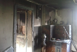 На Львовщине женщина погибла в огне собственного дома (ФОТО)