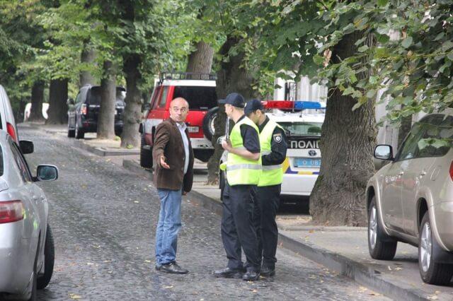 Кандидат у мери Львова потрапив у аварію (фото)