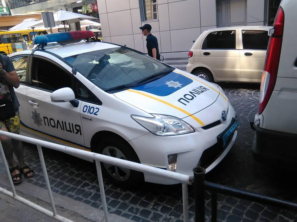 Три ДТП за участю львівських поліцейських