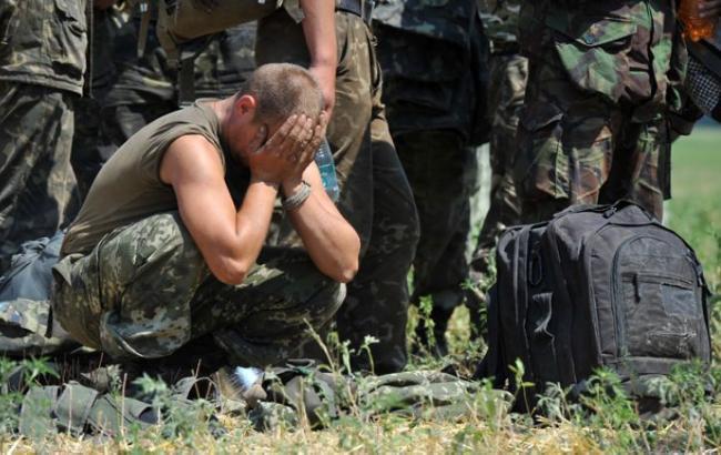 Не совсем спокойно: боевики обстреляли поселок Луганское