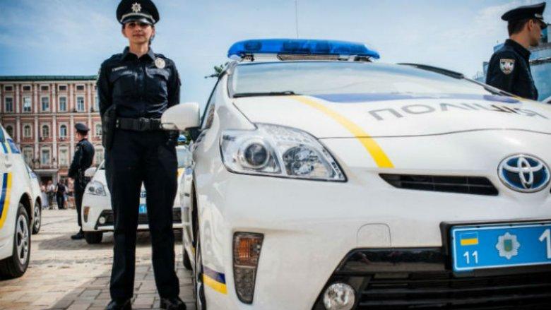 Во Львове новая патрульная полиция оштрафовала судью за нарушение правил дорожного движения