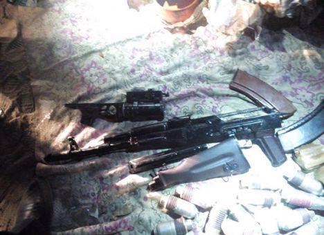 В Днепропетровск везли кучу незаконного оружия (Фото)