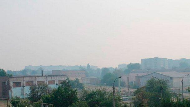 Вінниця й Черкаси задихаються від диму (фото)
