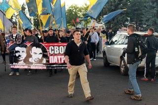 У Львові відбувся Марш на підтримку захисників Конституції (ВІДЕО)