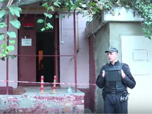 """В Сумах произошел взрыв в офисе """"Правого сектора"""" (Видео)"""