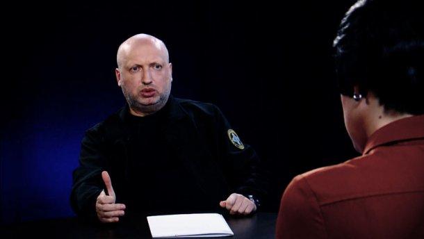 Турчинов объяснил, почему Украина не будет менять Крым на Донбасс