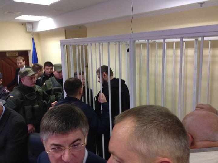 У Києві розглядають апеляцію на арешт Мосійчука (ФОТО)