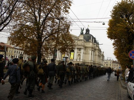 У Львові пройшов Марш героїв УПА  (Відео)