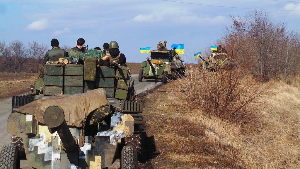 Сили АТО починають відведення артилерії калібру менше 100 мм, – прес-центр