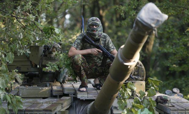 Бойовики обстріляли позиції сил АТО в районі Опитного і Пісок