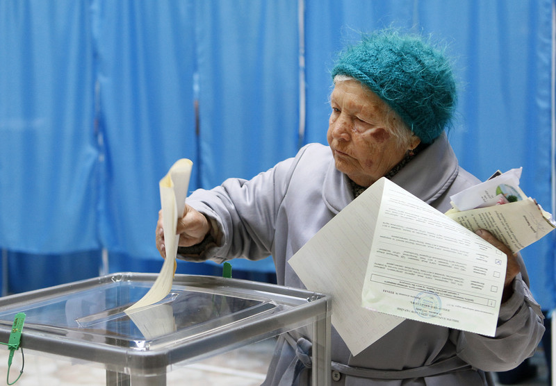Parliamentary elections in the Ukraine