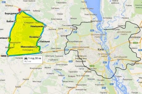 Окружению Януковича оставили 31 га охотничьих угодий на Киевщине