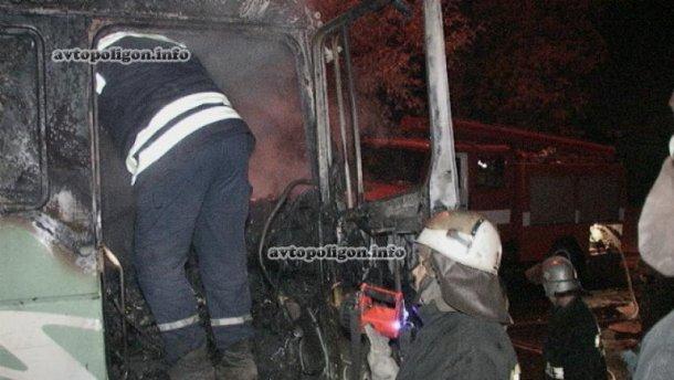 У Києві водій згорів заживо  в автомобілі (Фото)