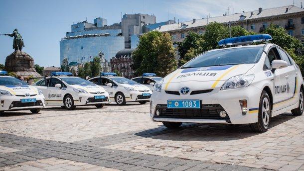 Поліція у Києві затримала п'яних міліціонерів